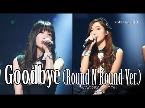 SNSD (TaeYeon & Jessica) - Goodbye (Round N Round Ver.)