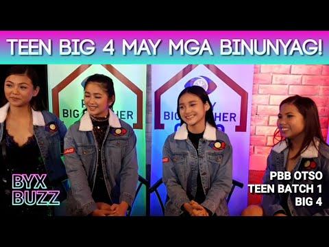 PBB Otso Teen Bacth 1 Big 4 LIE, KARINA, KAORI & JELAY may mga binunyag!