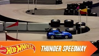 Custom Motors Cup  Race 1: Thunder Speedway | Hot Wheels