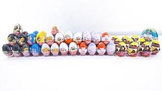 50+ Eggs Surprise! Peppa Pig, Minions, Paw Patrol, Ninja Turtles, English for kids