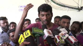 Theatres  are The Mother Of Video Piracy Not Just TV Channels - Actor Vishal - Must Watch