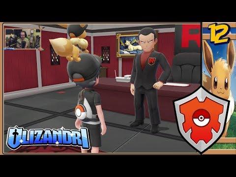 Pokemon: Lets Go, Eevee! - Celadon Game Corner Rocket Raid, Giovanni & Sky Dash - Episode 12