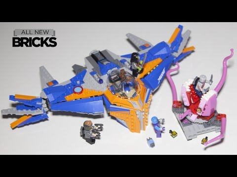 Lego Marvel Guardians Of The Galaxy Vol. 2 76081 The Milano Vs The Abilisk Speed Build