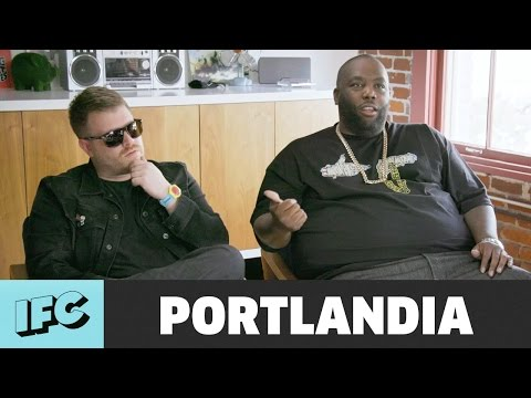 'Run the Jewels Album Drop' (ft. Killer Mike & El-P) | Portlandia | IFC