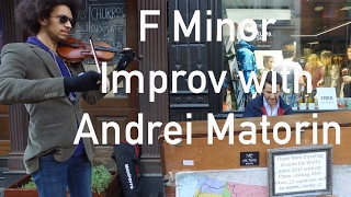 F minor Piano and Violin Improvisation with Andrei Matorin in NYC