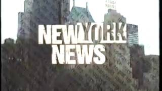 """New York News"" TV Intro Video"