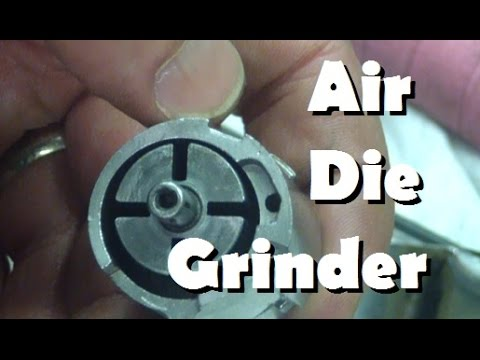 BOLTR: Power-Fist Air Die Grinder.