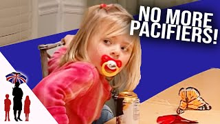 4 Year Old Gets Rid of Pacifier - Supernanny US