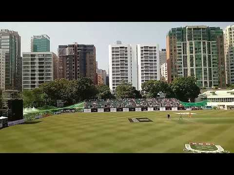 The Travel Professor is at the Hong Kong World Cricket Sixes