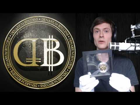 Review: Denarium Gold-Plated 1 BTC Silver Coin
