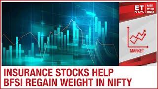 Insurance Stocks Help BFSI Regain Weight In Nifty