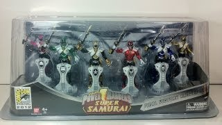 Review: SDCC 2012 Exclusive - Final Victory Ranger Pack (Power Rangers Super Samurai)