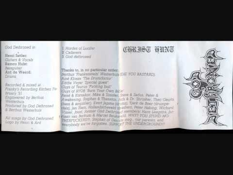 God Dethroned - Christhunt [Full Demo '91]