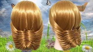 Beautiful Hairstyle For Wedding Or Function 🏵️ Hair Style Girl 🍃 Different Hairstyles for Party