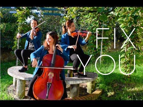 FIX YOU String Cover | Trio Piú Mosso