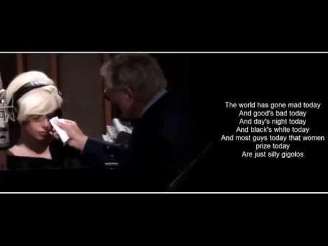 Tony Bennett & Lady Gaga - Anything Goes (Lyrics Video)