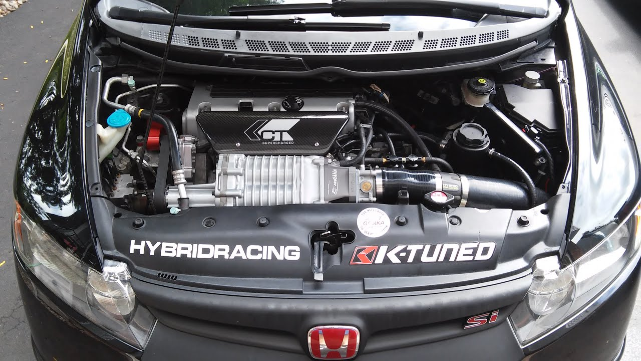Ct E Supercharged Ned Setup Install Compilation Civic Si Fa5