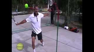 Все теннисные удары на тренажере Теннисан