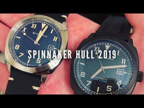 Spinnaker Hull SP-5070-02 And Tactical Watch Reviews - Panerai California Dials!