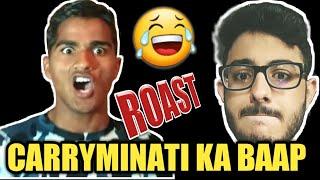 Father Of Carryminati | He Is More Talented Than Carryminati | Bajarbattu | Roast | Ducky Bhai Roast