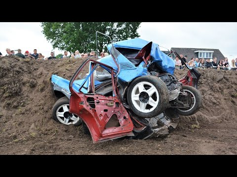 Biggest Crashes Banger Racing