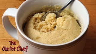 5 Minute Very Vanilla Mug Cake - Recipe