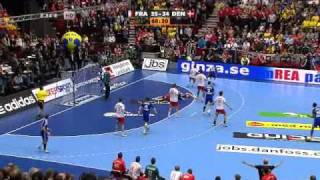 Handball World Cup 2011 FINAL!! Denmark-France 35-37 overtime last 5 minutes