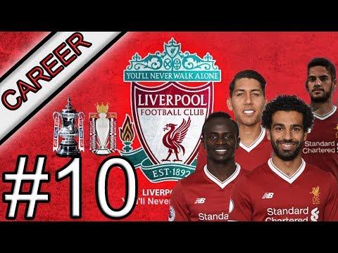 FIFA 18 Manager Career LIVERPOOL Episode 10 Treble Trophy Winner?