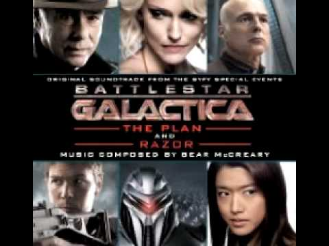 Battlestar Galactica The Plan and Razor Soundtrack-Starbuck's Destiny Track 18 mp3