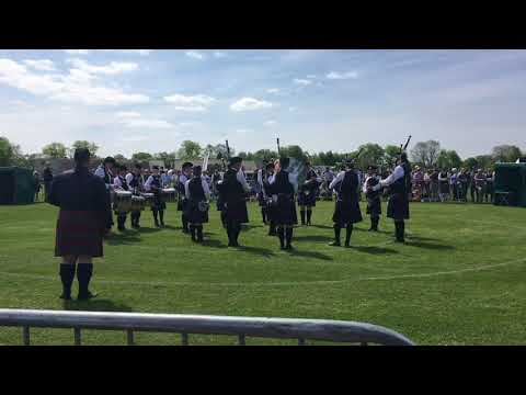 British Pipe Band Championships - Carnoustie and District Pipe Band