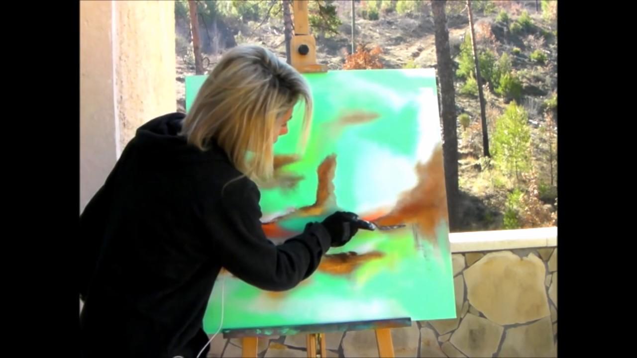 Cours De Peinture Acrylique Youtube Idées Déco Maison
