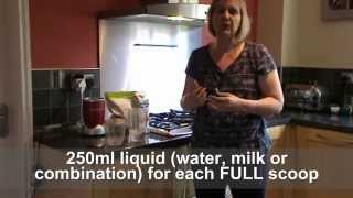 Juiceplus Chocolate Breakfast Shake Recipe