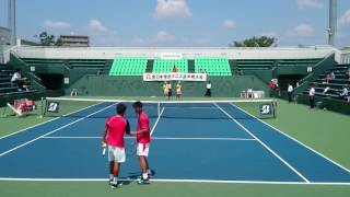 テニス ダブルス 試合一覧