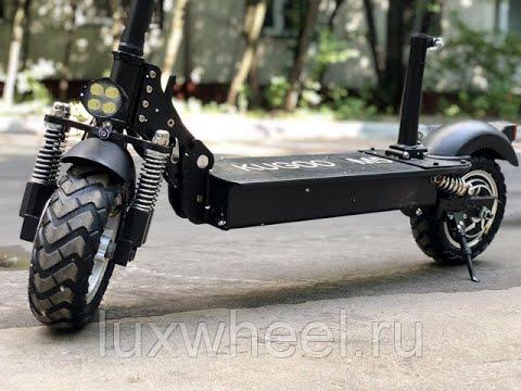 Kugoo M5 LUX, распаковка и обзор.