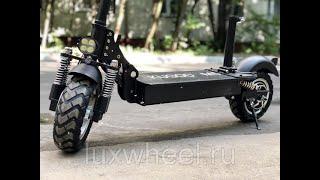 Електросамокат Kugoo M5 LUX, розпакування та огляд.