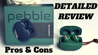 Crossbeats Pebble True Wireless Earbud Detailed Review & Unboxing! Must See Crossbeats Pebble Review