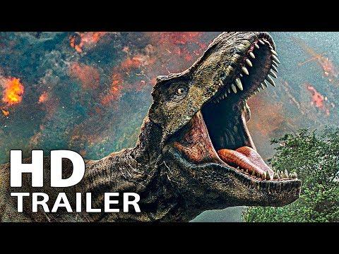 JURASSIC WORLD 2 ALLE Trailer & Clips Deutsch German (2018)