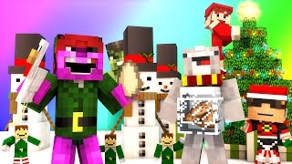 minecraft mini game do not laugh christmas special santa burglar and hulk grinch w facecam