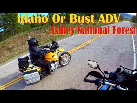Idaho Or Bust ADV - Ashley National Forest