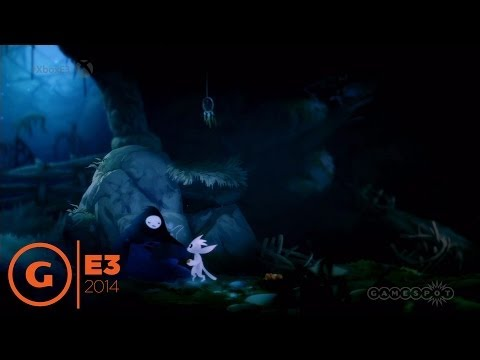 Ori and the Blind Forest - E3 2014 Trailer at Microsoft Press Conference