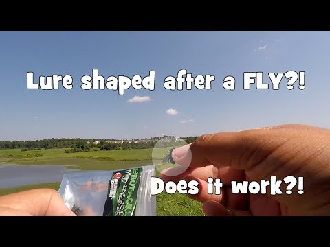 """""""FLY"""" Shaped LURE!! DOES IT WORK?! Sunfish SUPERFECTA at a New Spot! (Warrington, PA)"""