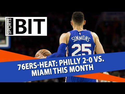 Philadelphia 76ers at Miami Heat | Sports BIT | NBA Picks