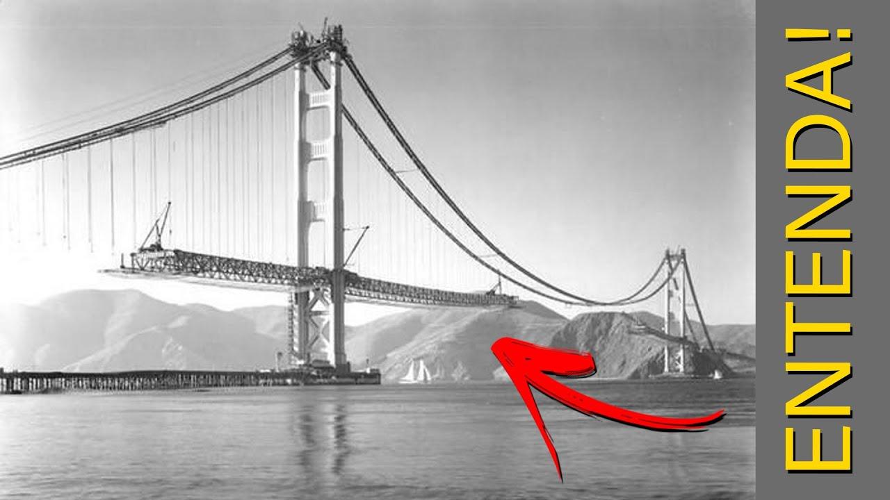 Pontes suspensas - Como são construídas