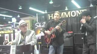 Jon Hammond Sk2 Mercy Mercy Mercy NAMM Jam with Koei Tanaka and Rich Severson