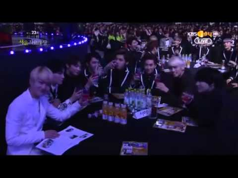 [140123]EXO & SHINee cut @Seoul Muzic Awards 2014