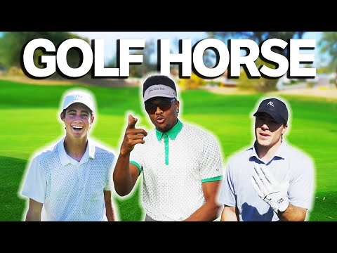 Epic On Course Golf HORSE Challenge W/ Brice Butler