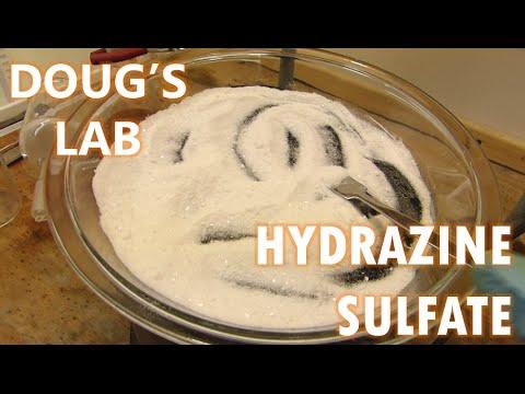 Hydrazine Sulfate: GB1153483