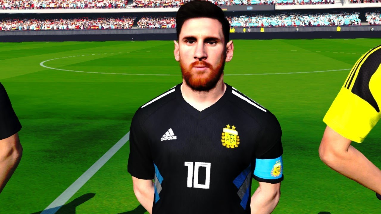 fbe8554628f FIFA World Cup 2018 - Argentina vs Germany (New Kits) - YouTube
