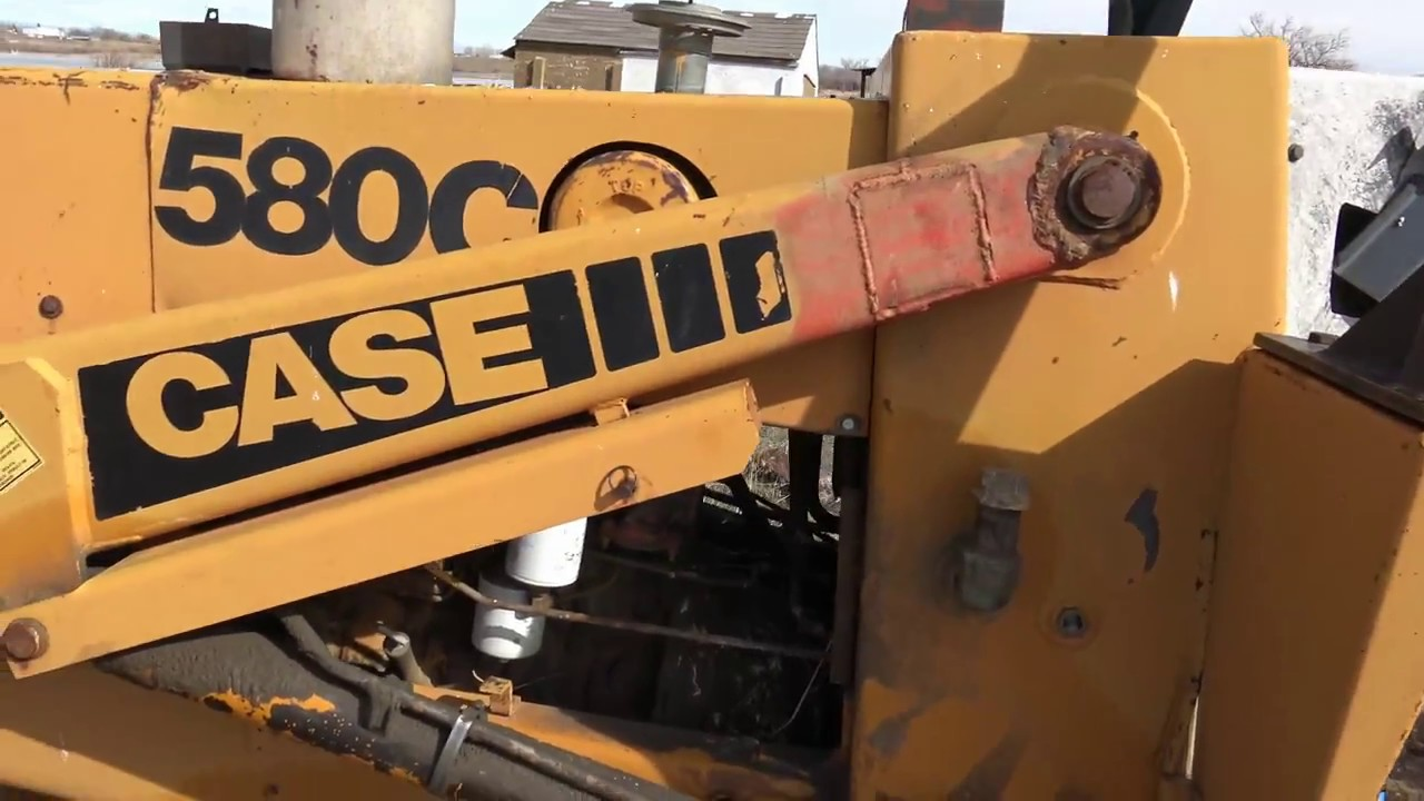 Totally Tim: Repair Shuttle Shift Case Backhoe Transmission - YouTube