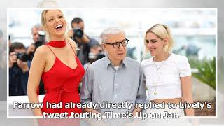 Dylan Farrow slams stars supporting Time's Up, but working with Woody Allen